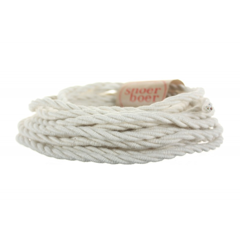 snoerboer colored cable torcido cotton