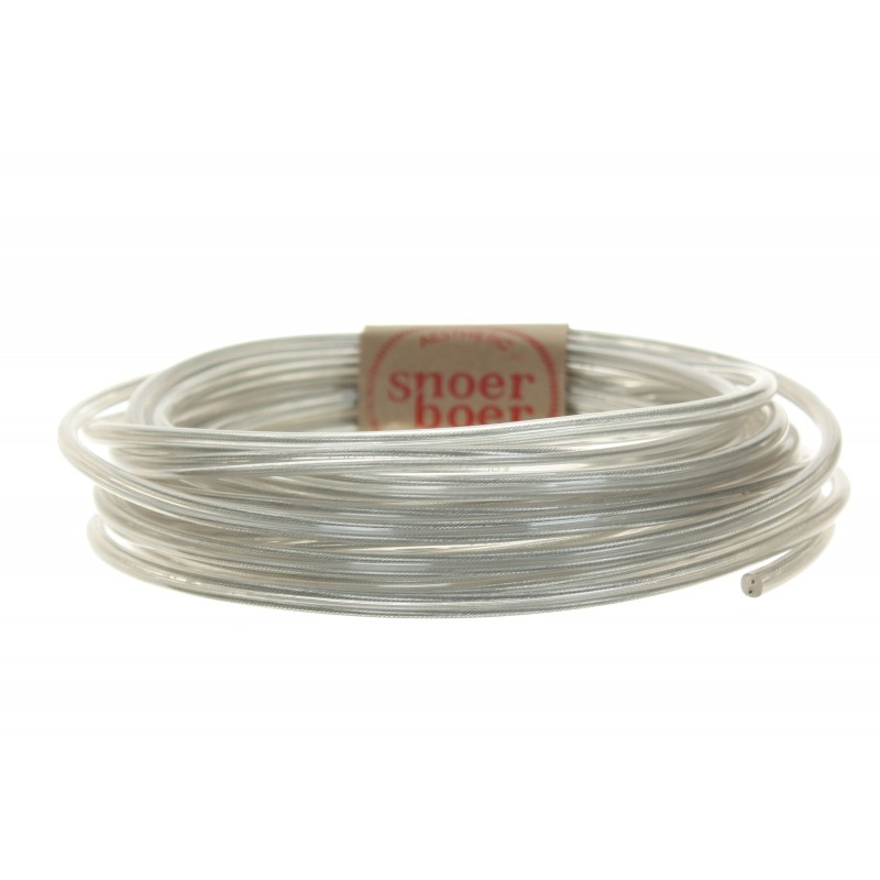 snoerboer colored cable transparent