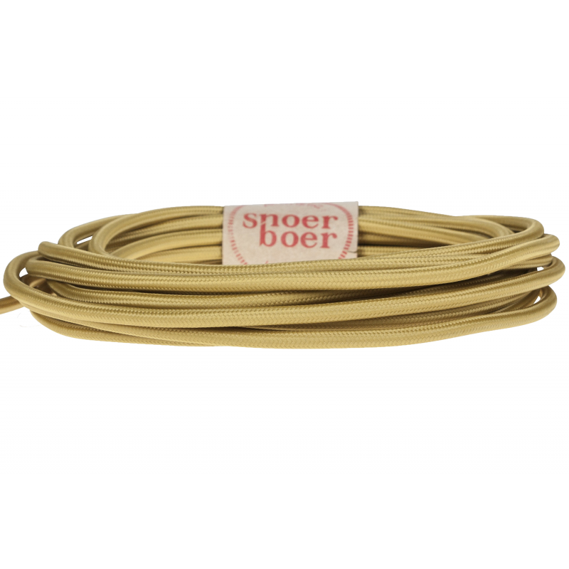 Mustard yellow fabric cable Light Essentials