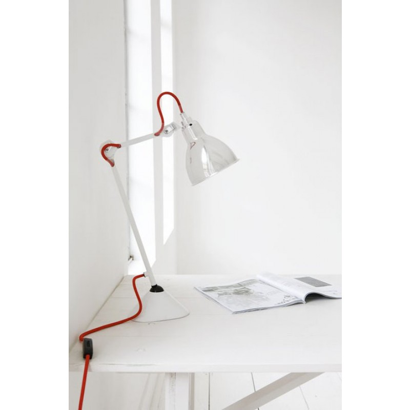 Snoerboer lamp cable red