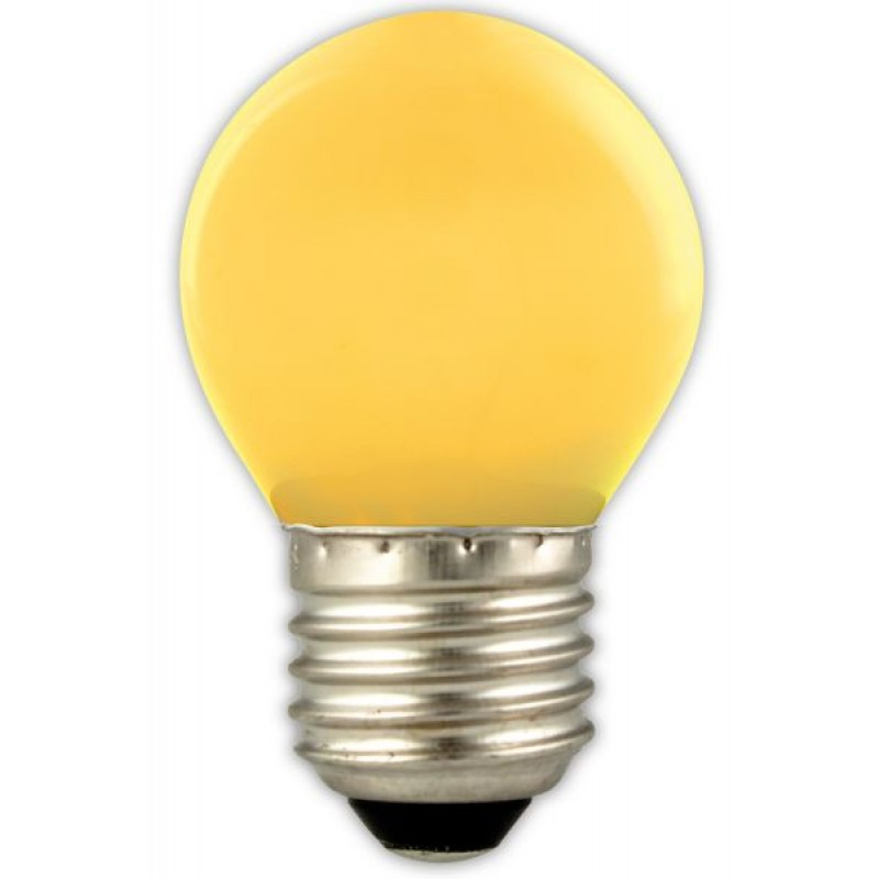 yellow LED bulb